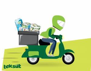 Teksüt, e-ticaret ve hızlı market teslimat kanallarında büyüyor